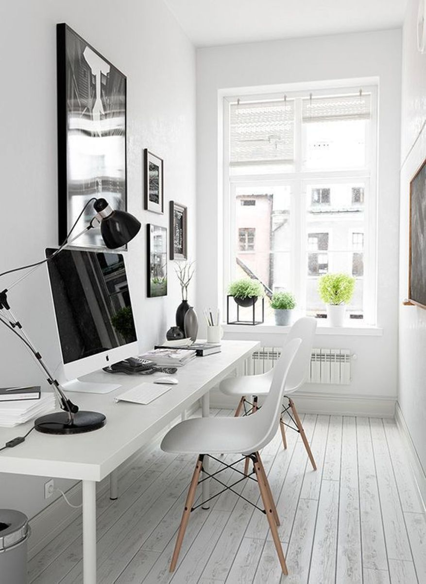 Inspiring Small Office Ideas For Small Space 06