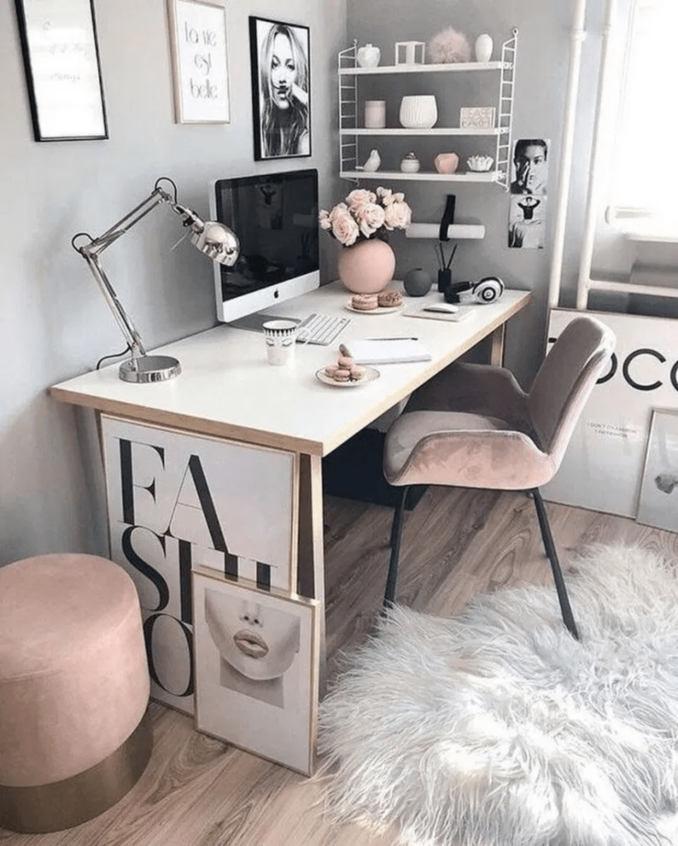 Inspiring Small Office Ideas For Small Space 22