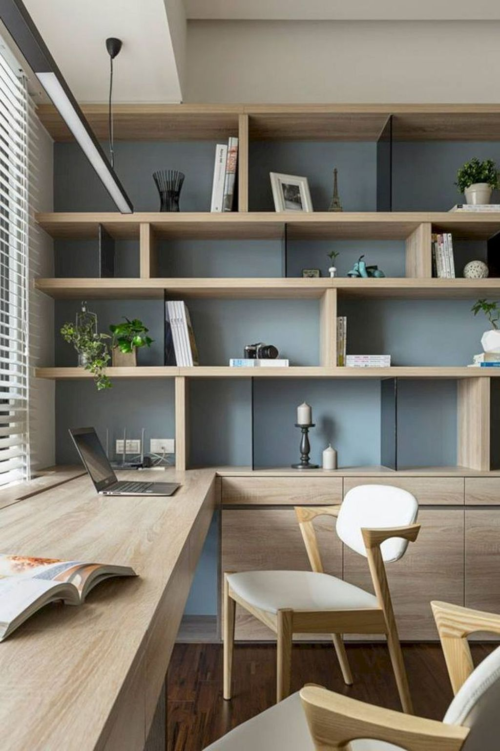 Inspiring Small Office Ideas For Small Space 35