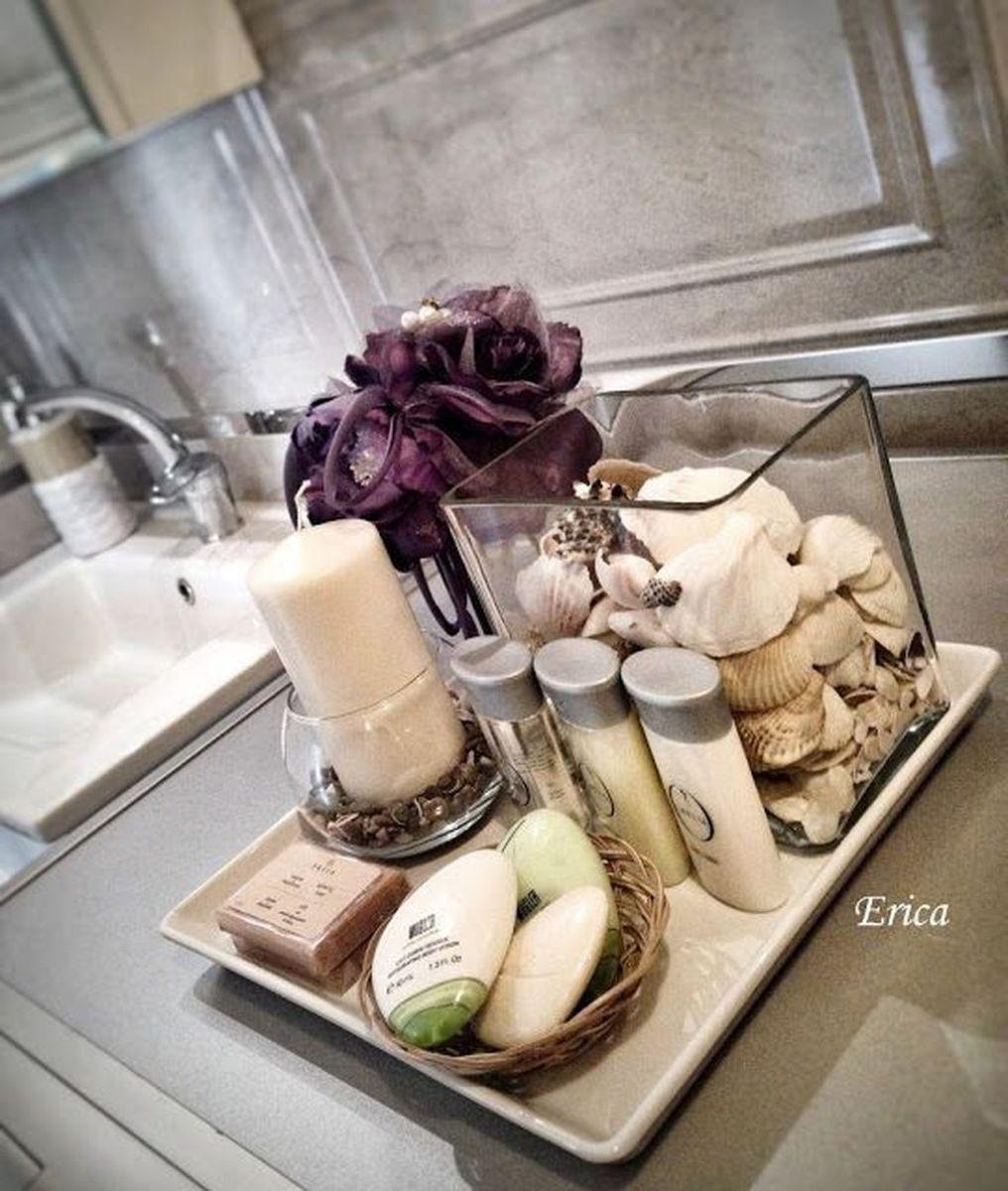 Inspiring Spa Bathroom Decor Ideas 34