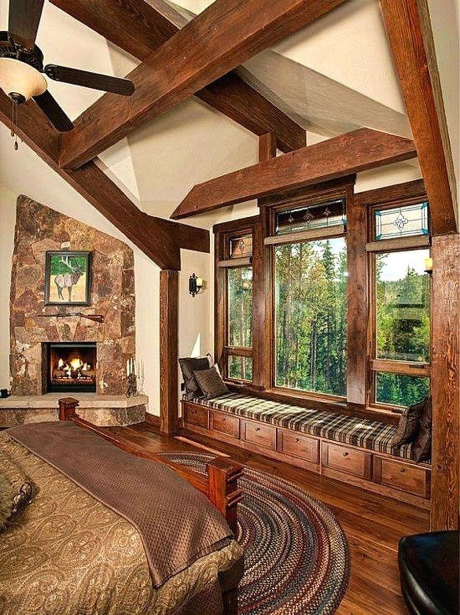 Lovely Rustic Bedroom Design Ideas 35 1