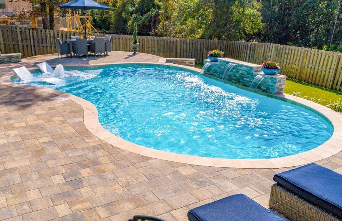 Stunning Backyard Pool Landscaping Ideas 07
