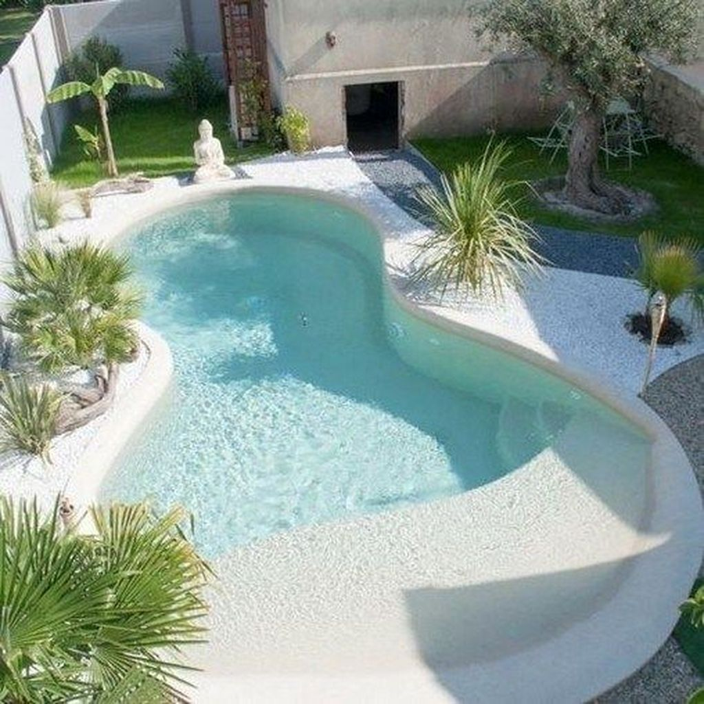 Stunning Backyard Pool Landscaping Ideas 08
