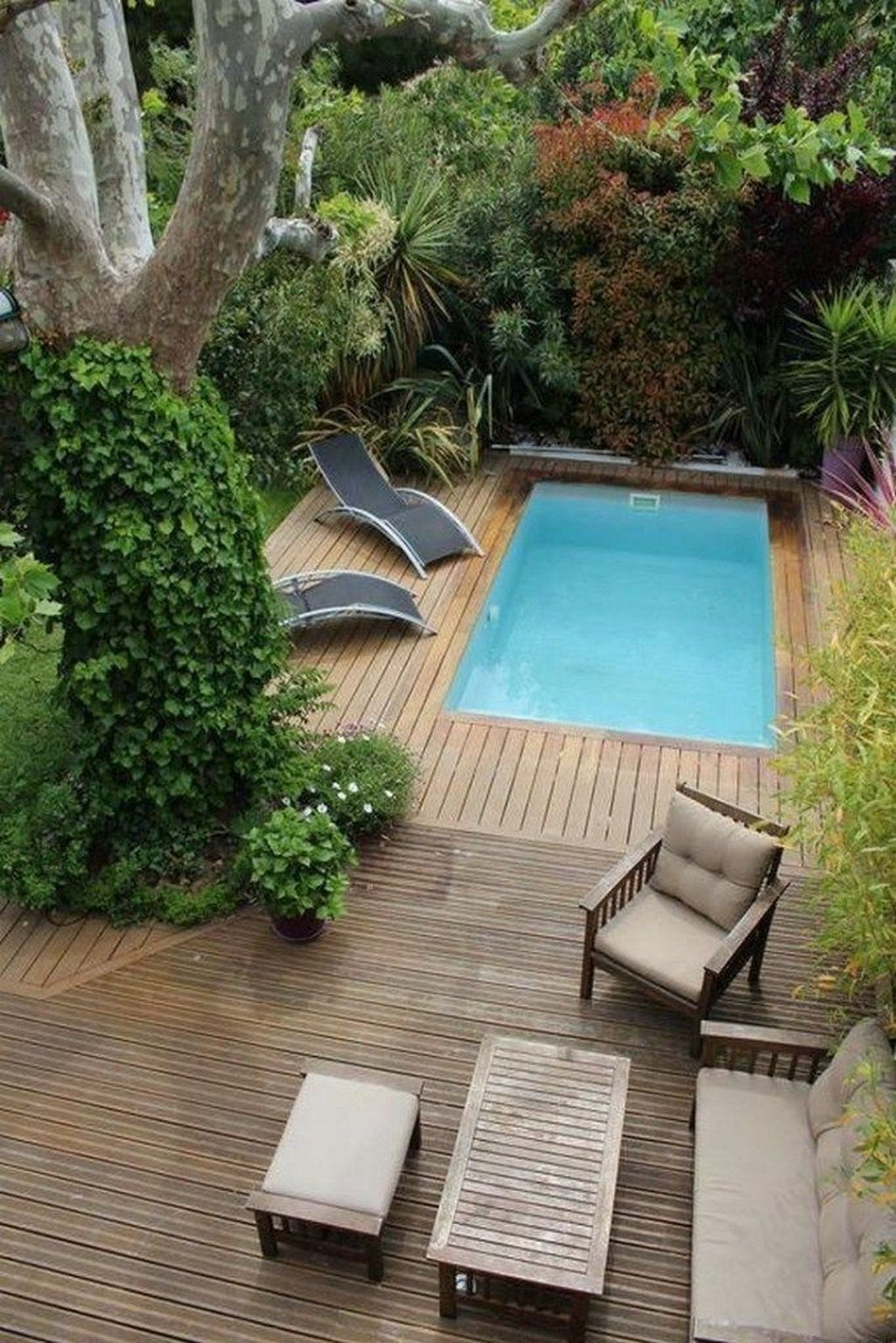 Stunning Backyard Pool Landscaping Ideas 19