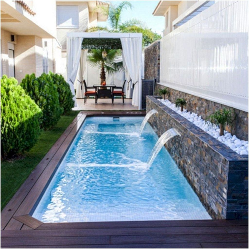 Stunning Backyard Pool Landscaping Ideas 21