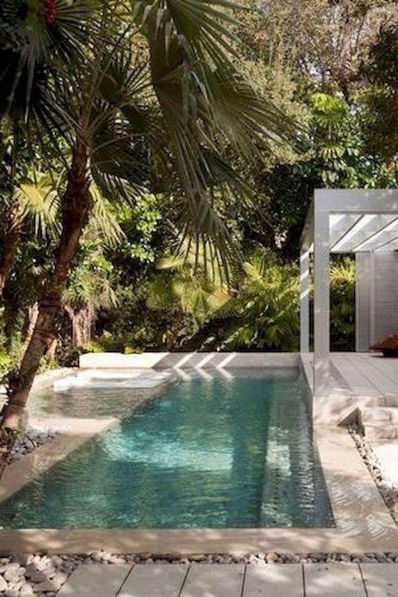 Stunning Backyard Pool Landscaping Ideas 28