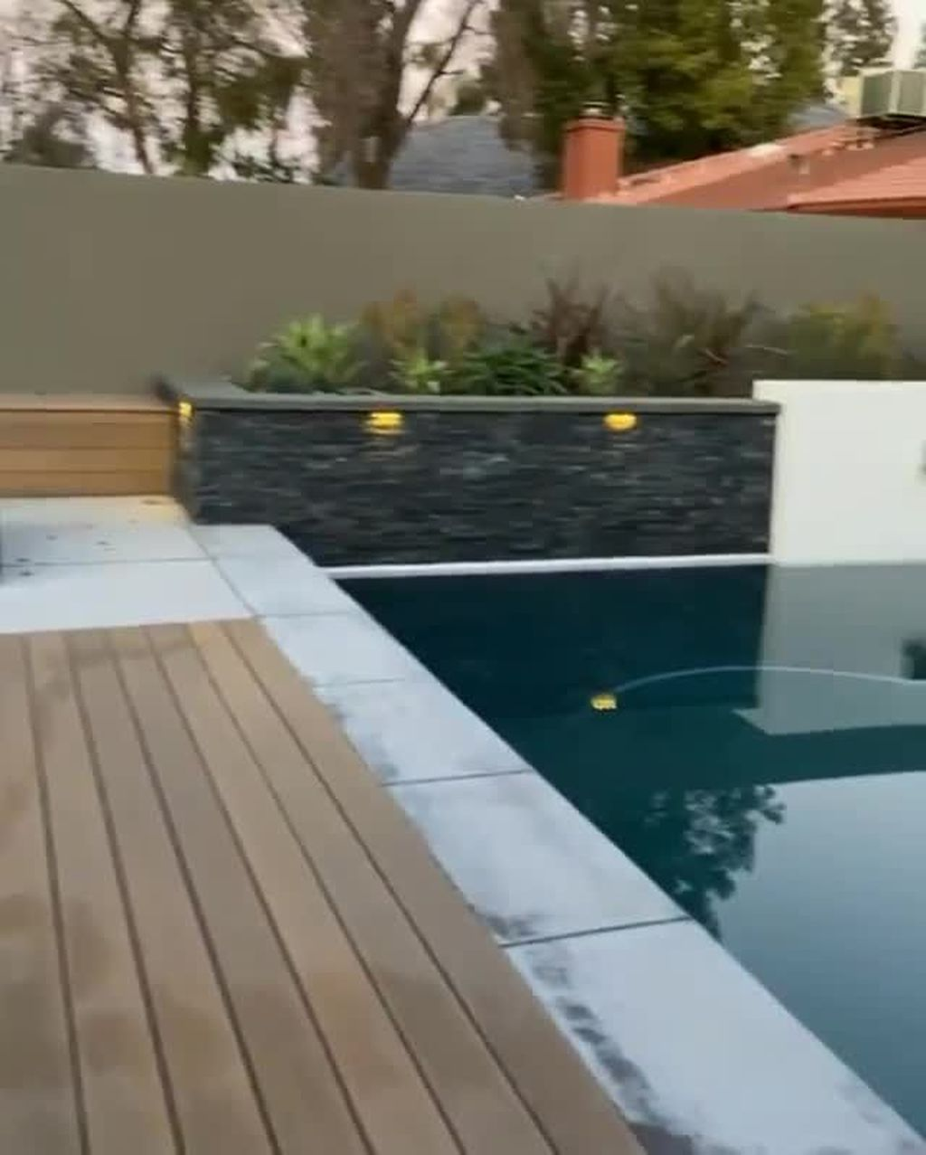 Stunning Backyard Pool Landscaping Ideas 31