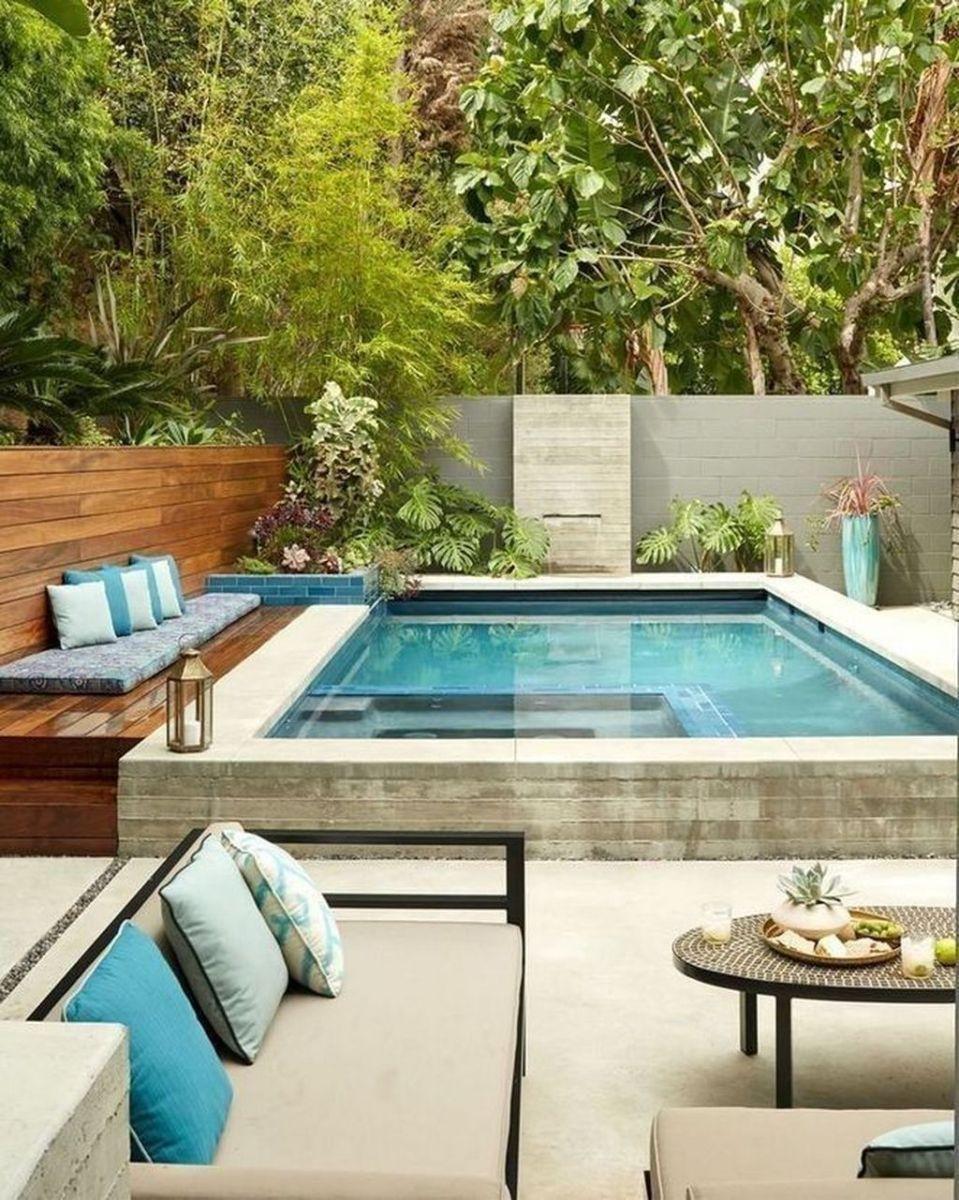 Stunning Backyard Pool Landscaping Ideas 32