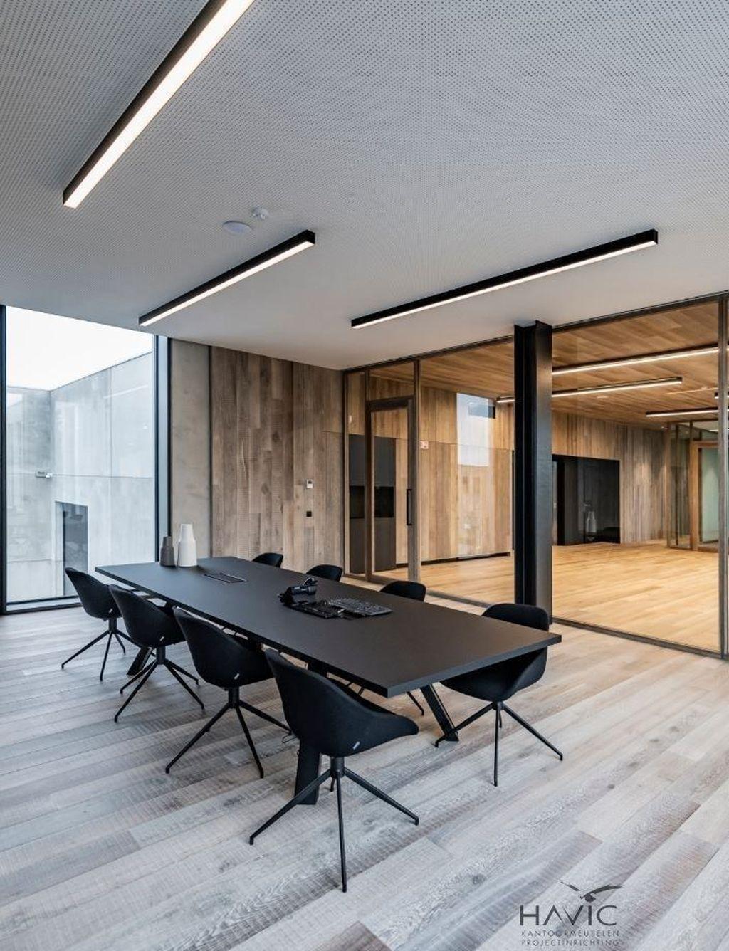 Stunning Contemporary Office Design Ideas 05