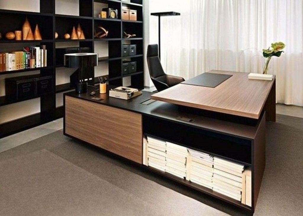 Stunning Contemporary Office Design Ideas 21