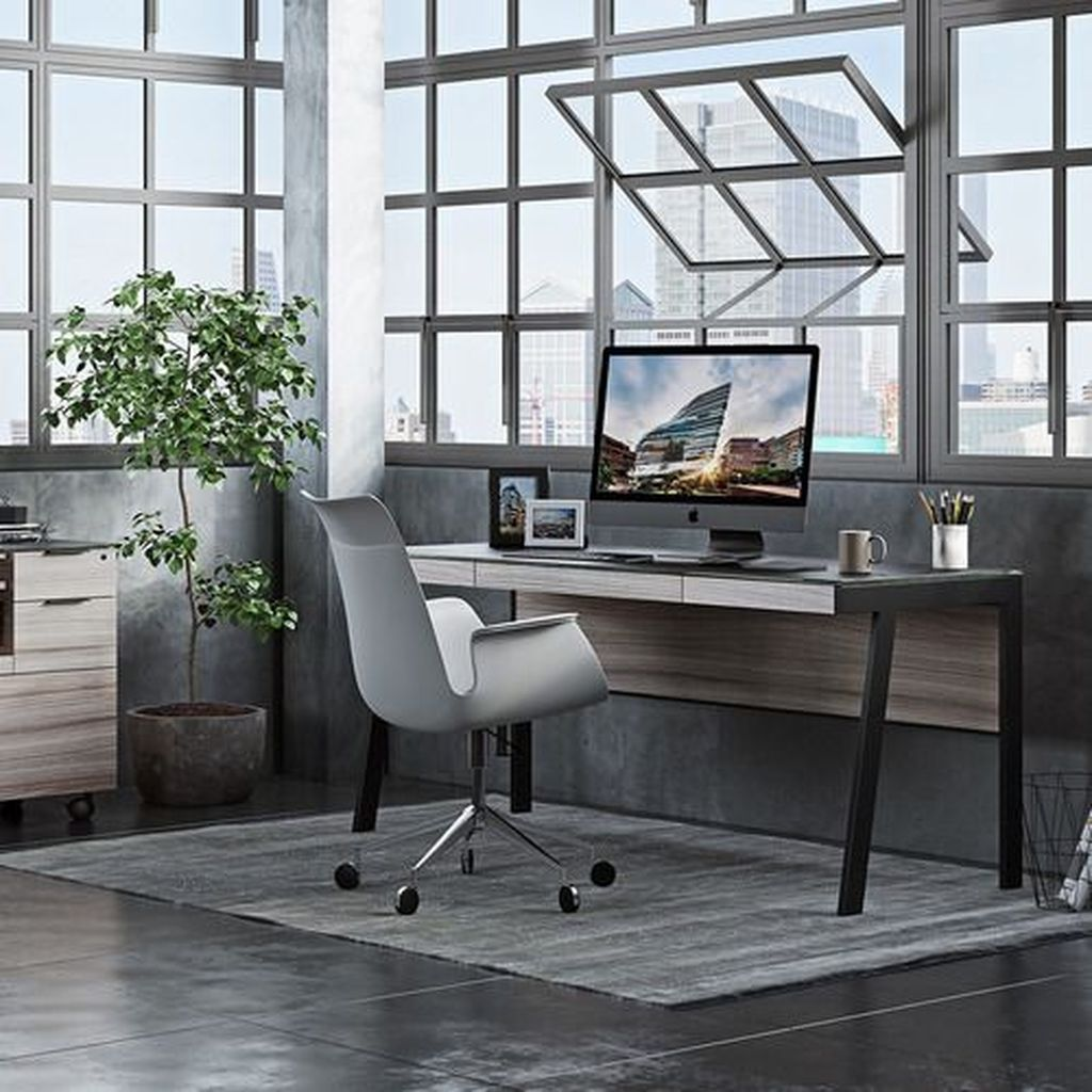 Stunning Contemporary Office Design Ideas 37
