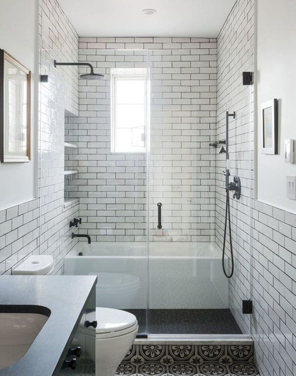 The Best Bathroom Shower Tub Ideas You Must Have 27