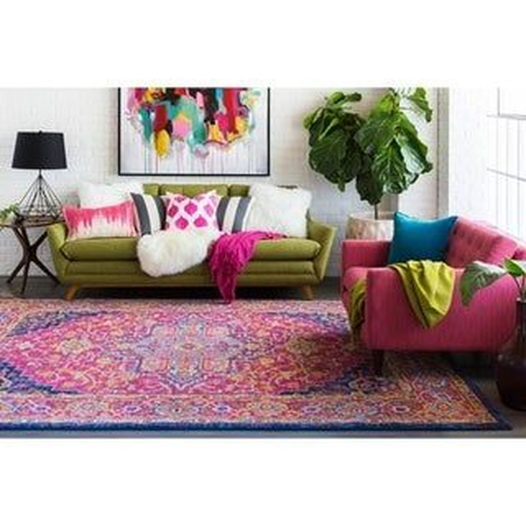 Amazing Floral Living Room Decor Ideas That You Will Love 13
