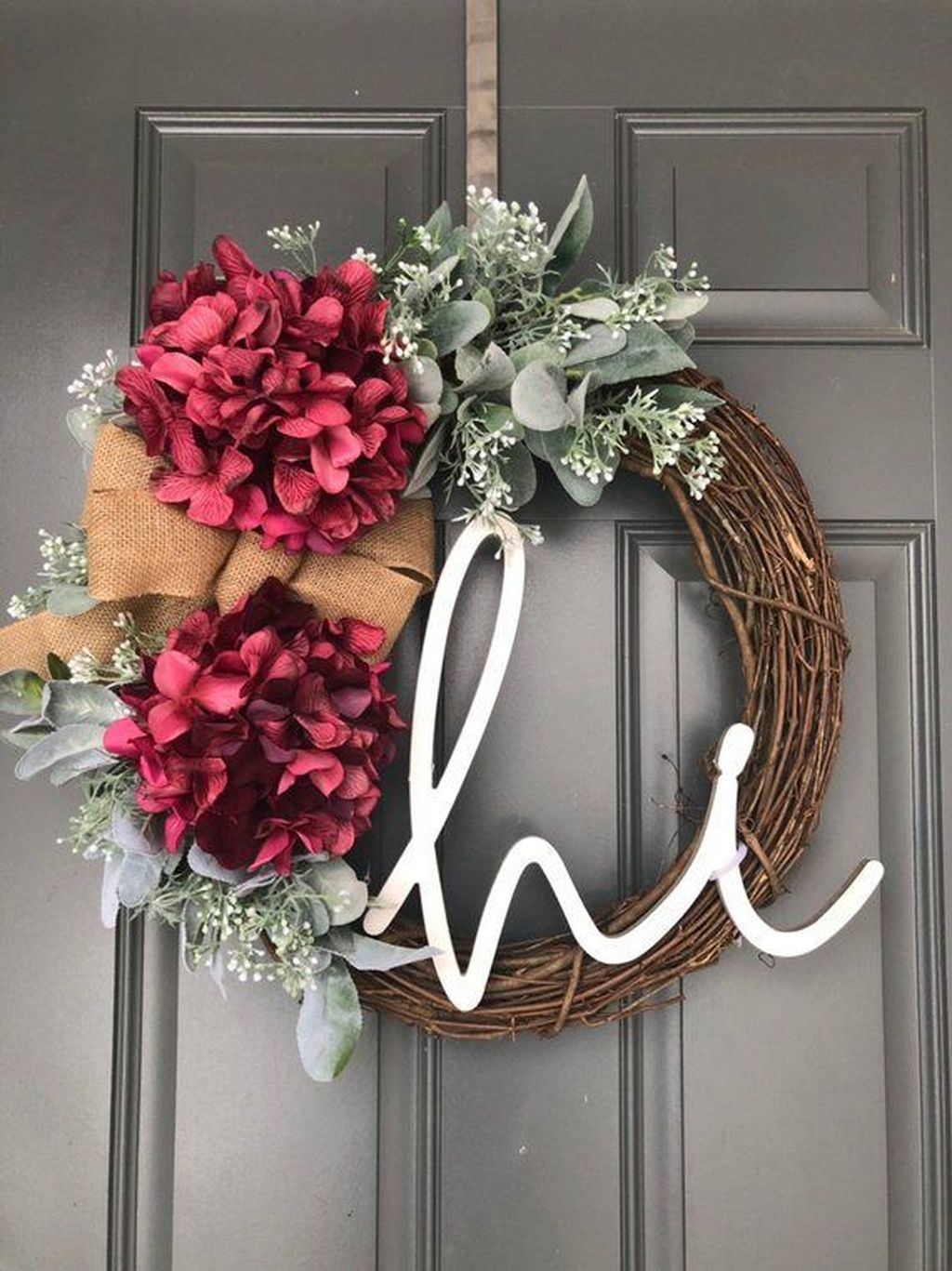 Awesome Spring Wreath Ideas For Front Door Decor 06