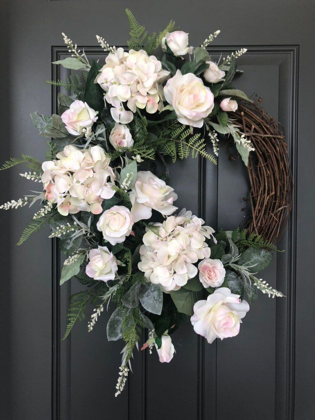 Awesome Spring Wreath Ideas For Front Door Decor 10