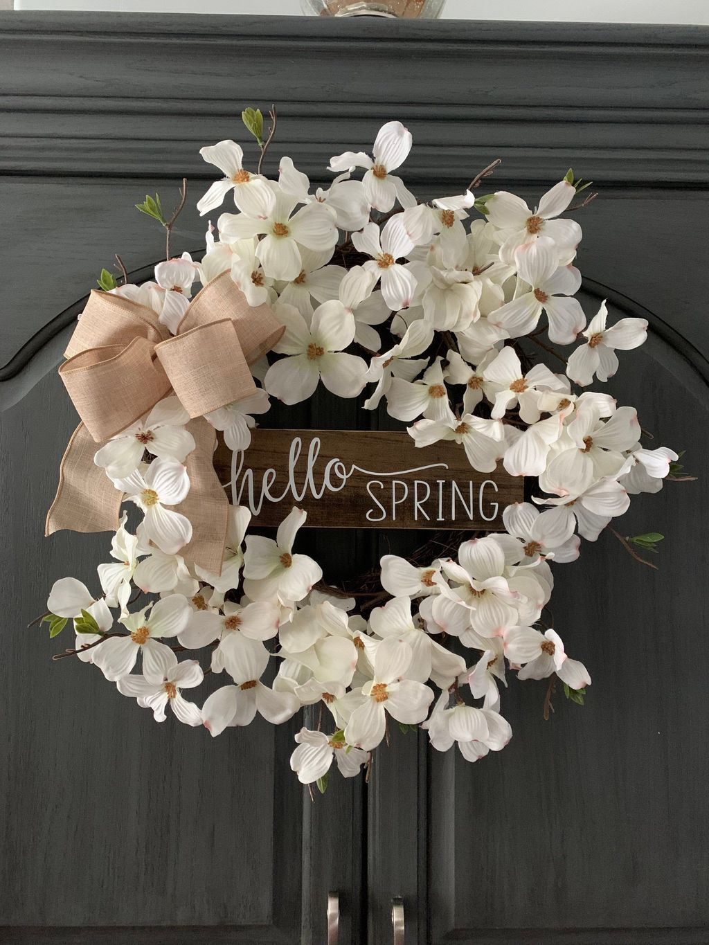 Awesome Spring Wreath Ideas For Front Door Decor 26