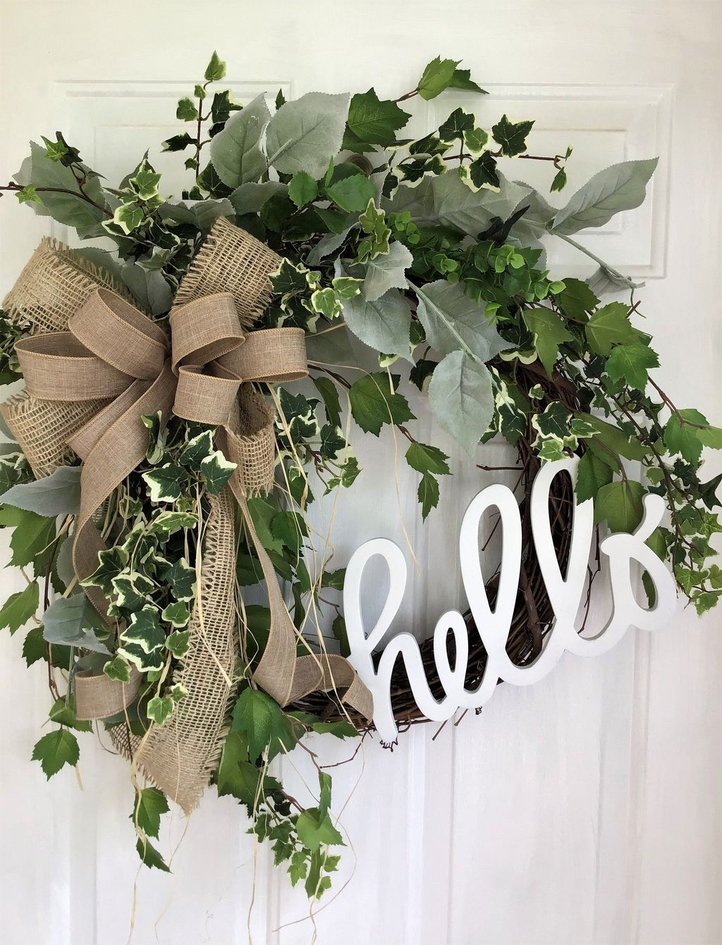 Awesome Spring Wreath Ideas For Front Door Decor 29