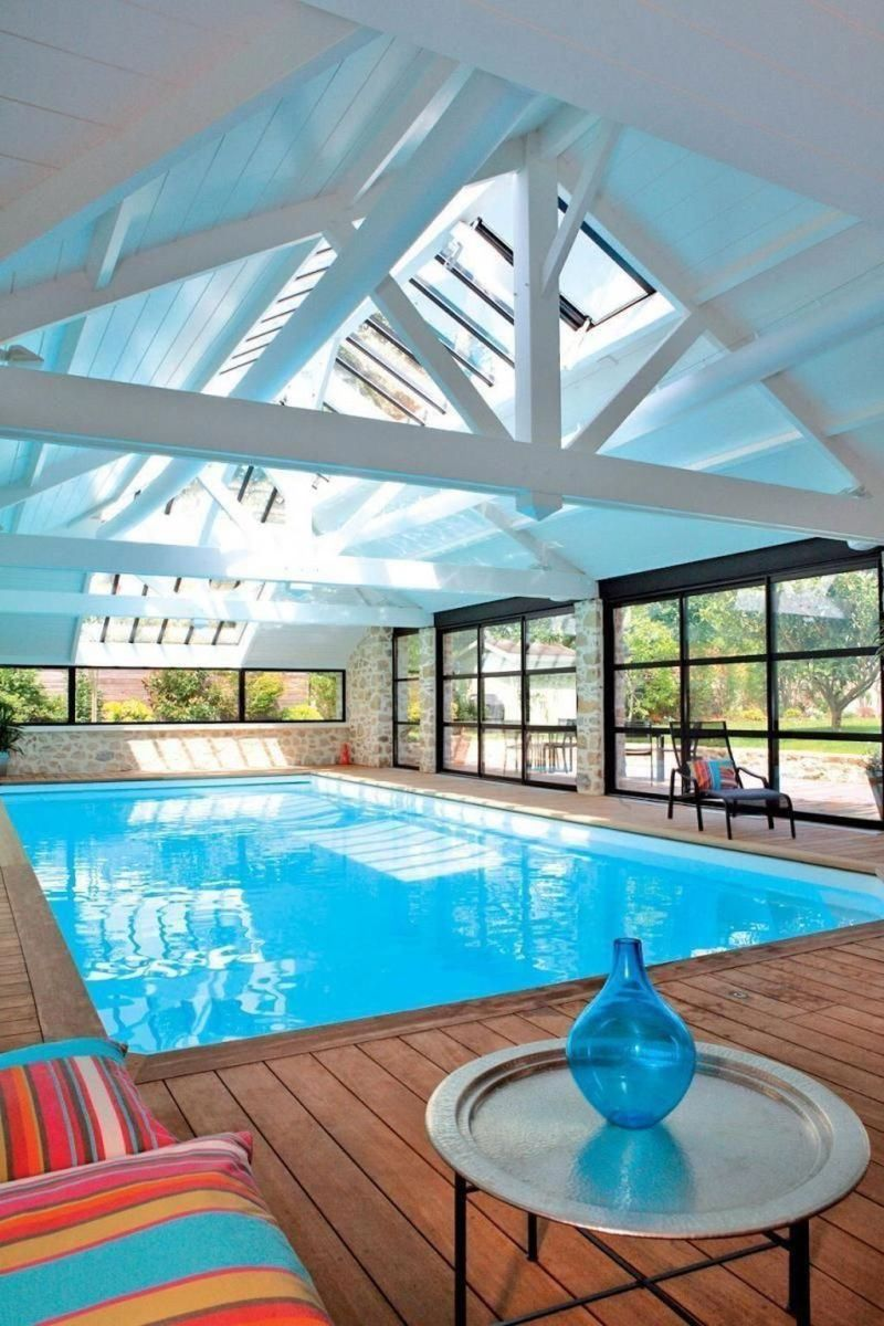 Beautiful Modern Indoor Pool Design Ideas You Must Have 03