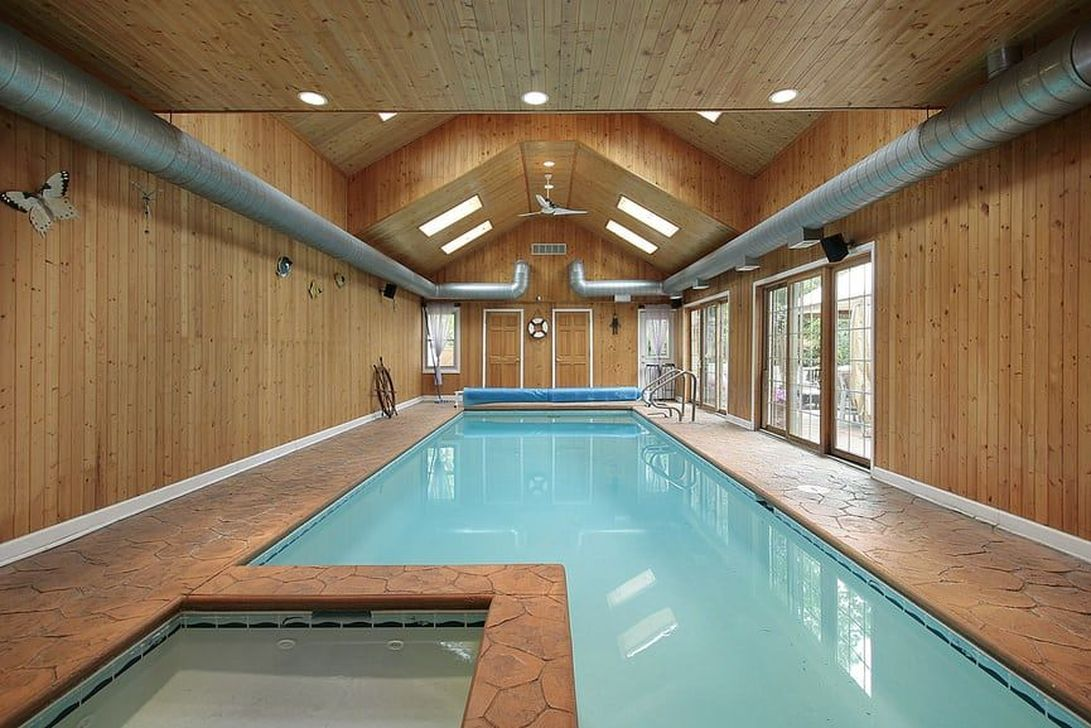 Beautiful Modern Indoor Pool Design Ideas You Must Have 07