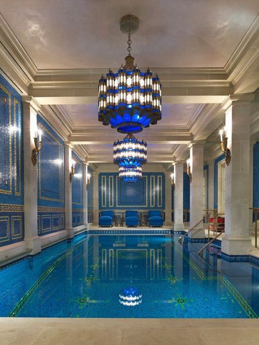 Beautiful Modern Indoor Pool Design Ideas You Must Have 09