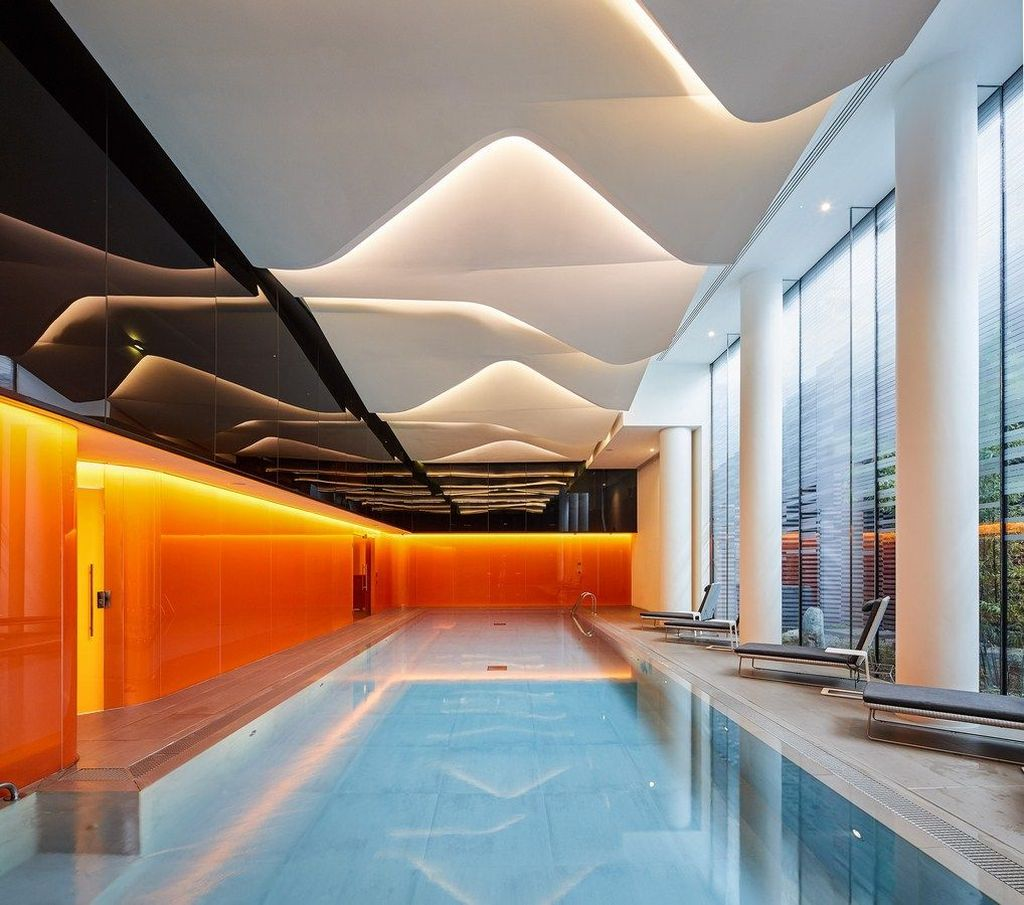 Beautiful Modern Indoor Pool Design Ideas You Must Have 17
