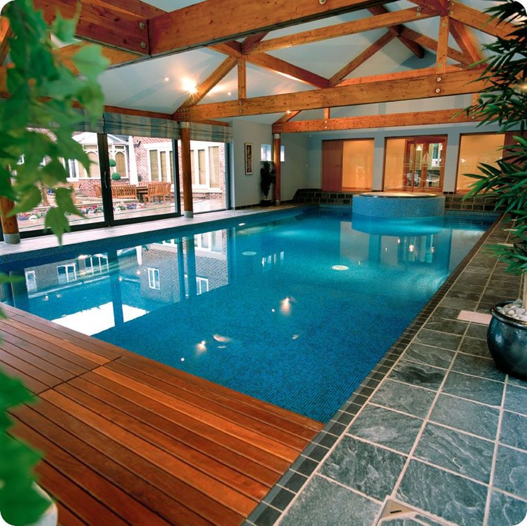 Beautiful Modern Indoor Pool Design Ideas You Must Have 21 1