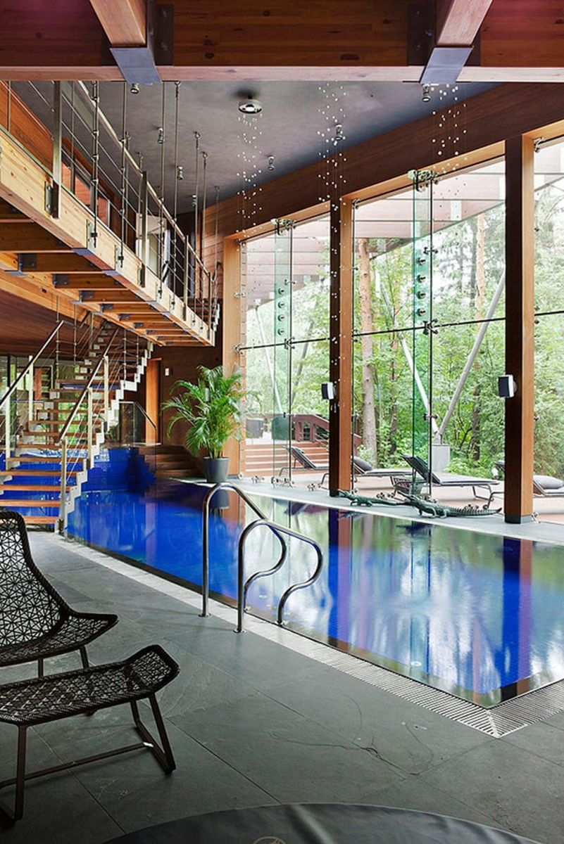 Beautiful Modern Indoor Pool Design Ideas You Must Have 22