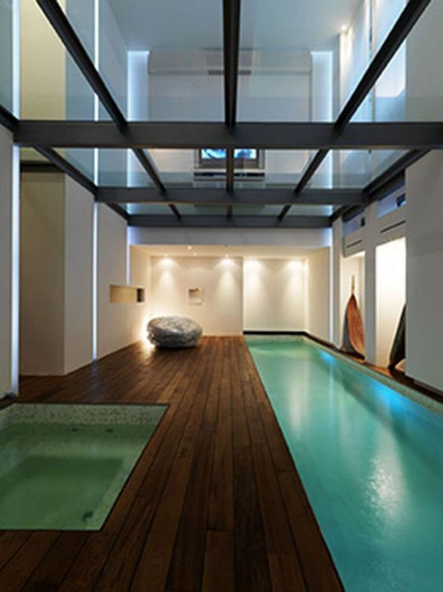 Beautiful Modern Indoor Pool Design Ideas You Must Have 31