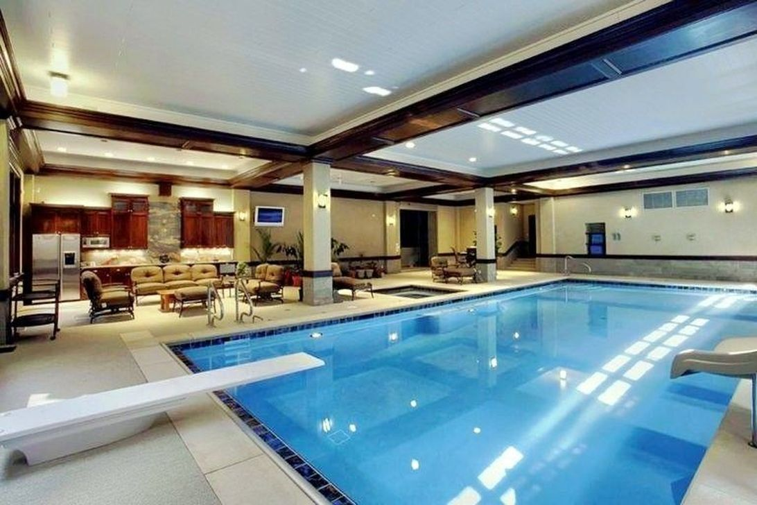 Beautiful Modern Indoor Pool Design Ideas You Must Have 38 1