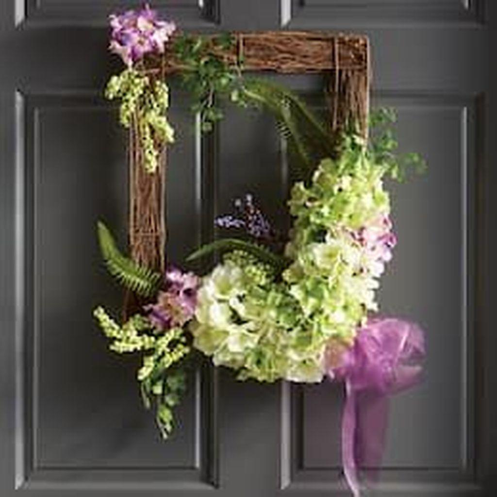 Beautiful Summer Planters Ideas For Front Door Decor 19