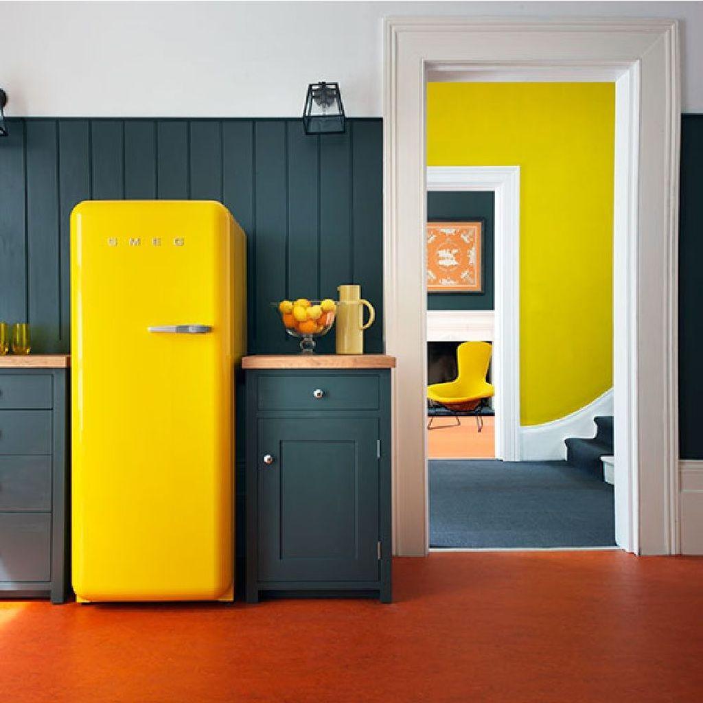 Charming Yellow Interior Design Ideas Best For Summer 06