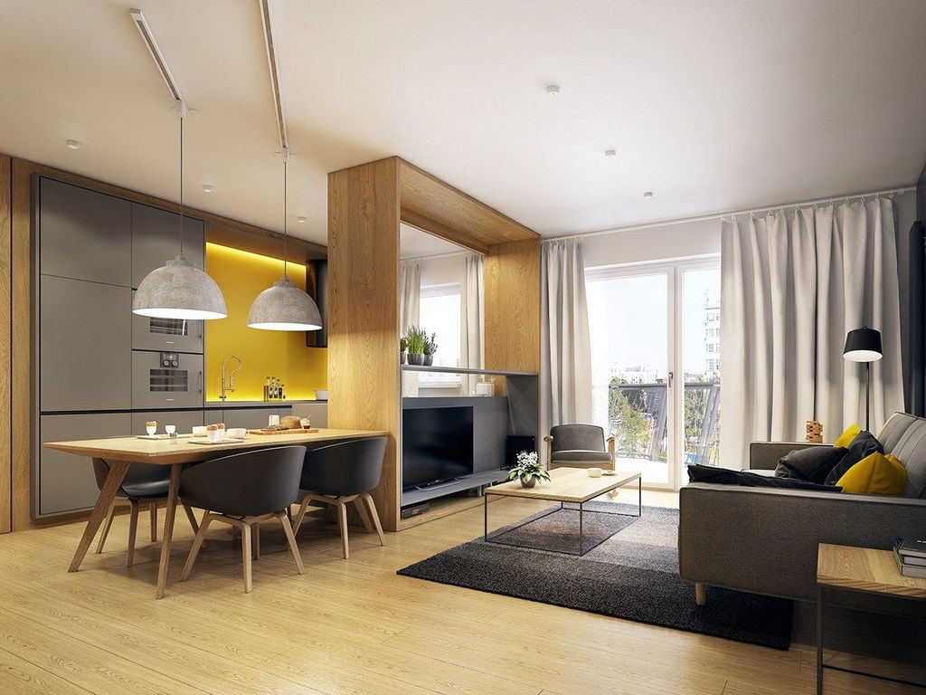 Charming Yellow Interior Design Ideas Best For Summer 26