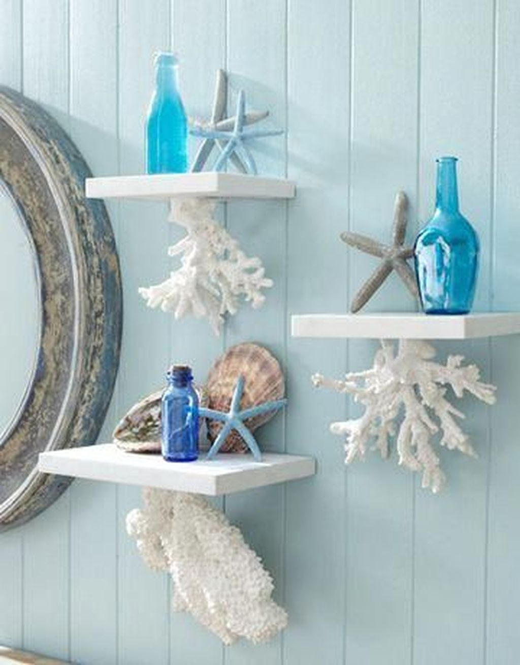 Creative Beach Theme Bathroom Decor Ideas You Will Love 04