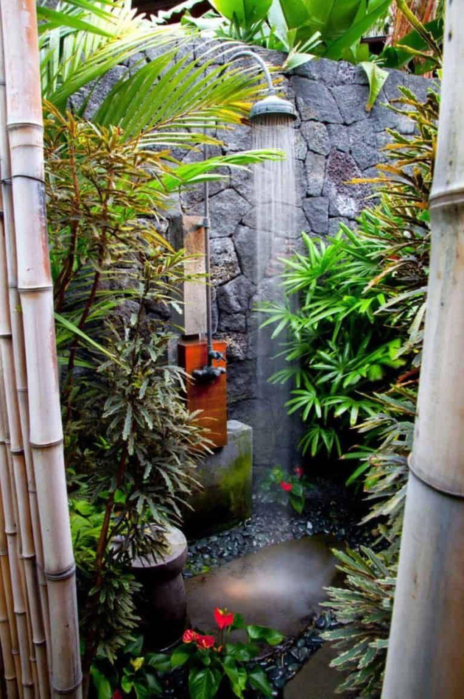 Creative Outdoor Bathroom Design Ideas For Enjoying Summer 07