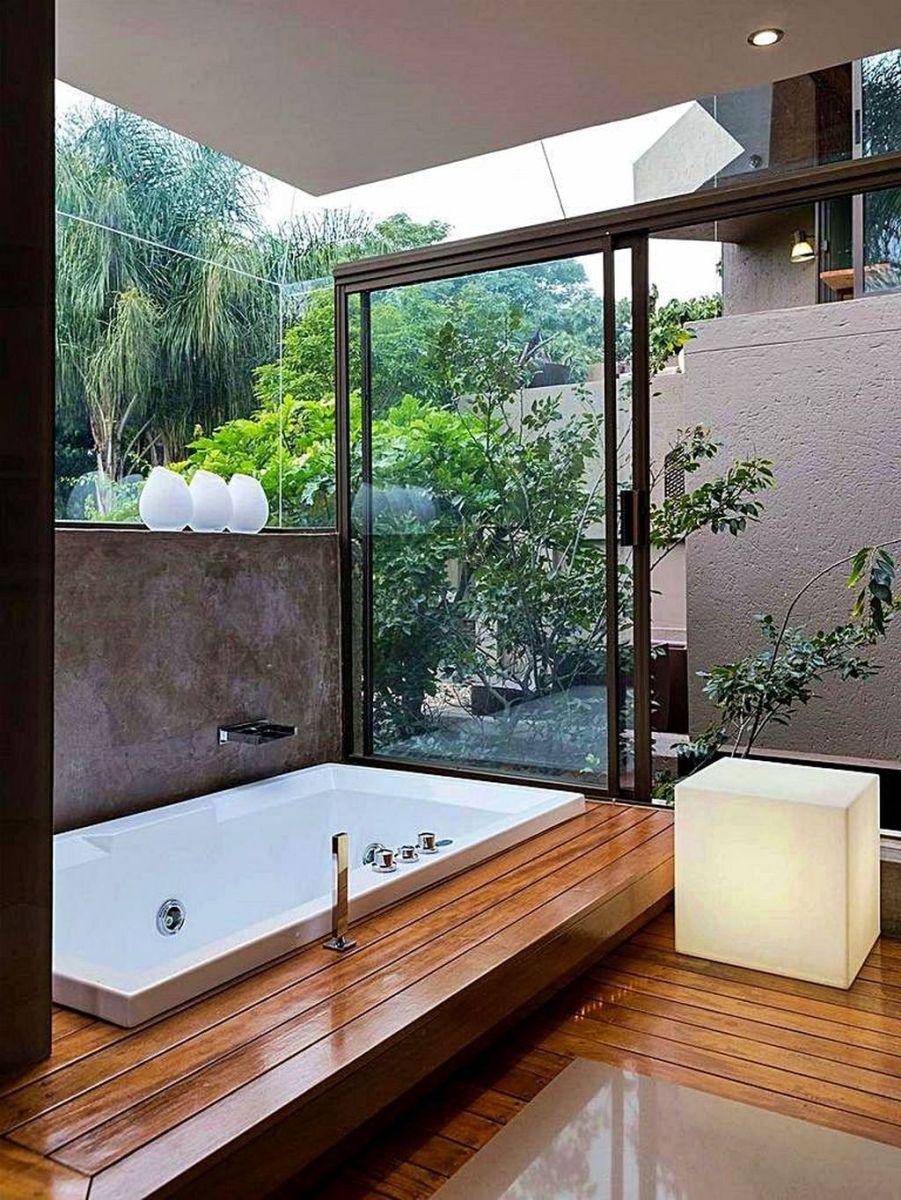 Creative Outdoor Bathroom Design Ideas For Enjoying Summer 10