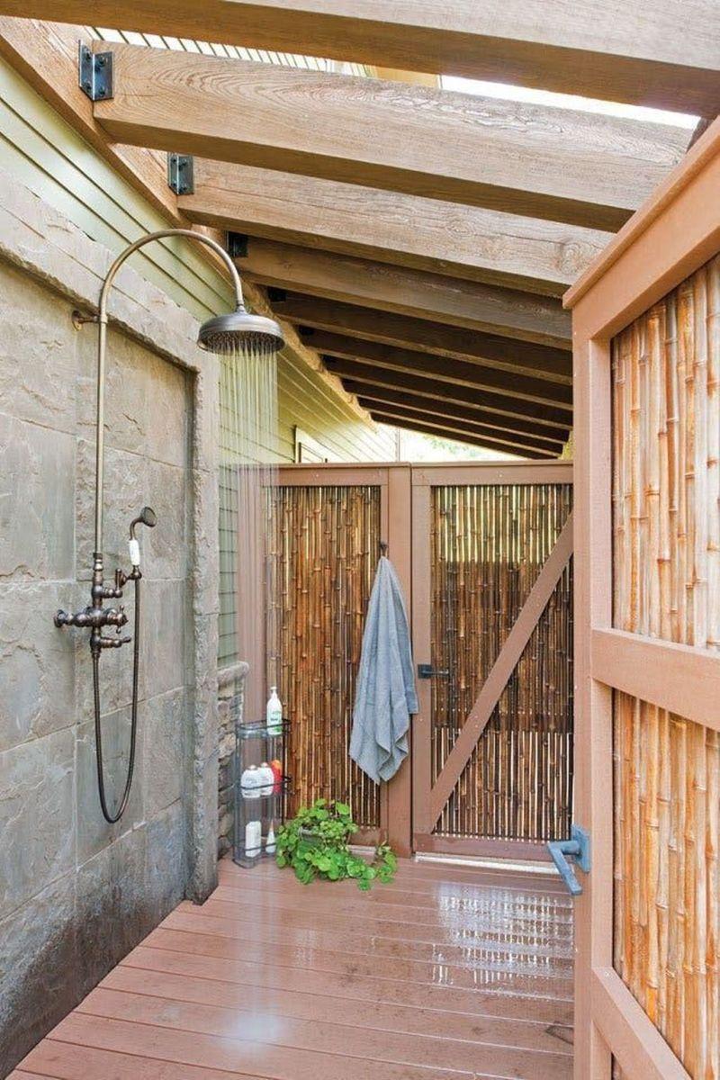 Creative Outdoor Bathroom Design Ideas For Enjoying Summer 21