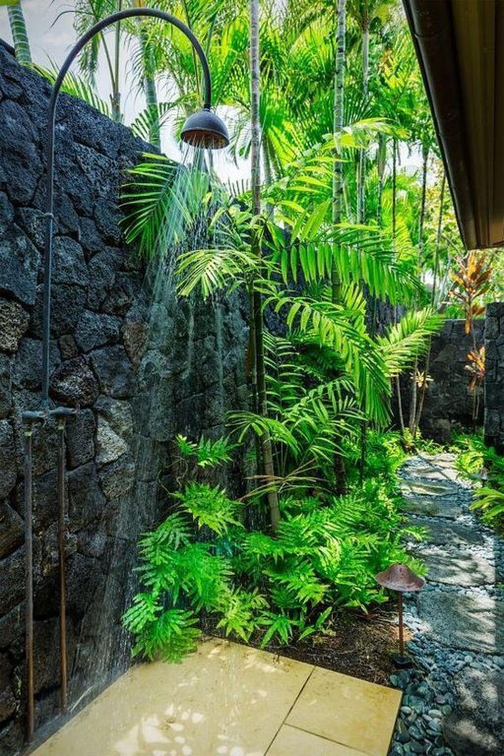 Creative Outdoor Bathroom Design Ideas For Enjoying Summer 28