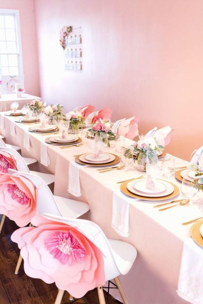 Fabulous Floral Theme Party Decor Ideas Best For Summertime 33
