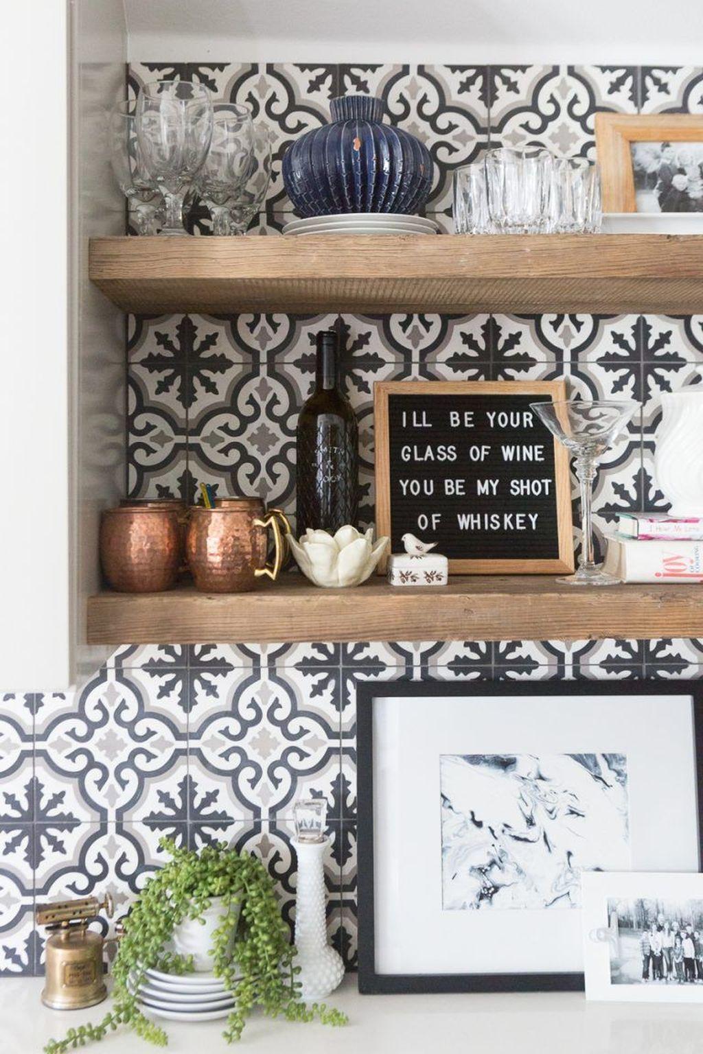 Fabulous Summer Kitchen Backsplash Ideas 05