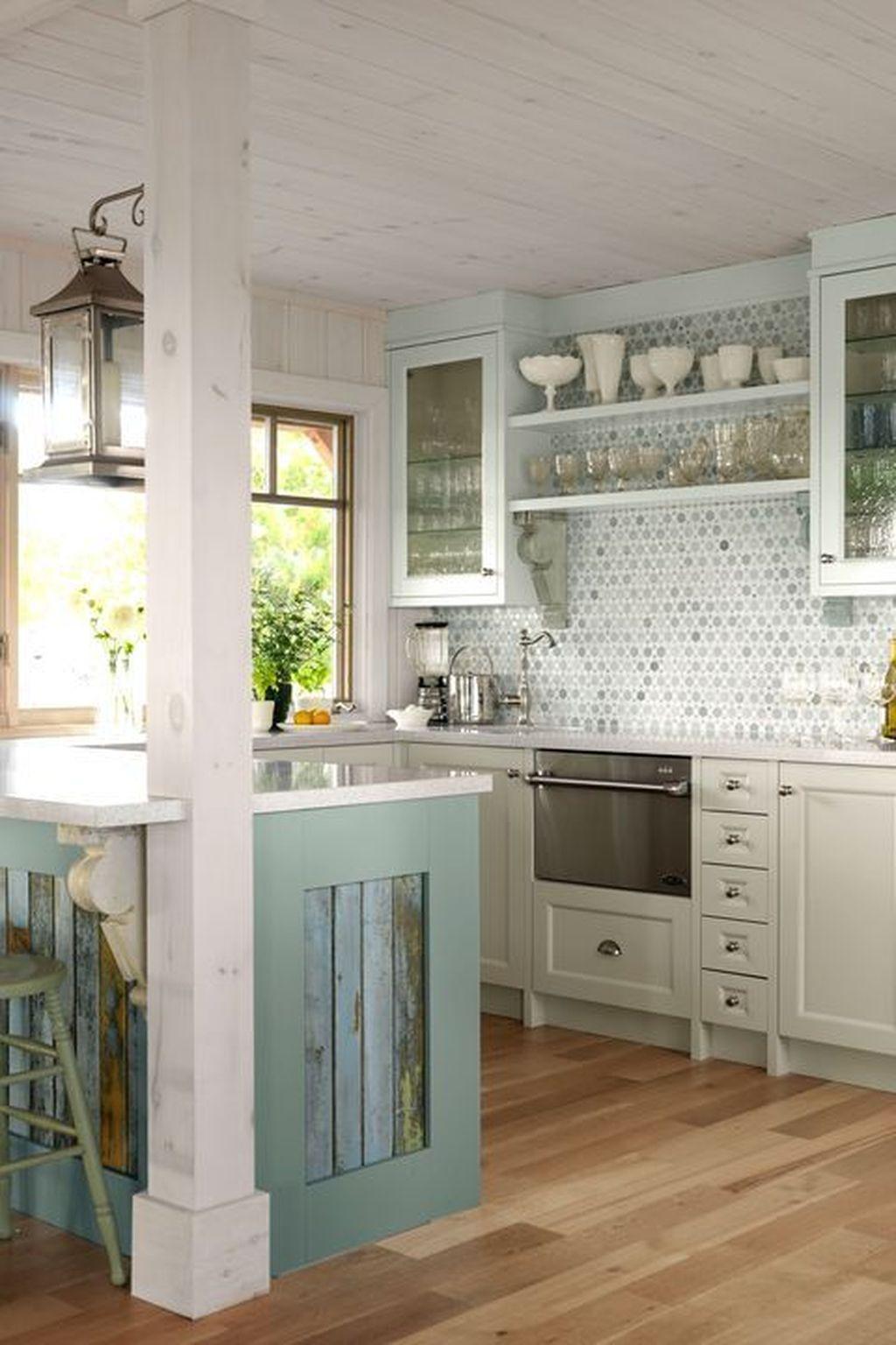 Fabulous Summer Kitchen Backsplash Ideas 14