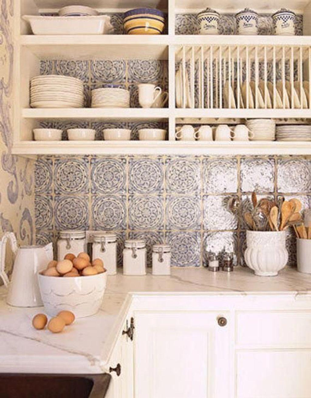 Fabulous Summer Kitchen Backsplash Ideas 25