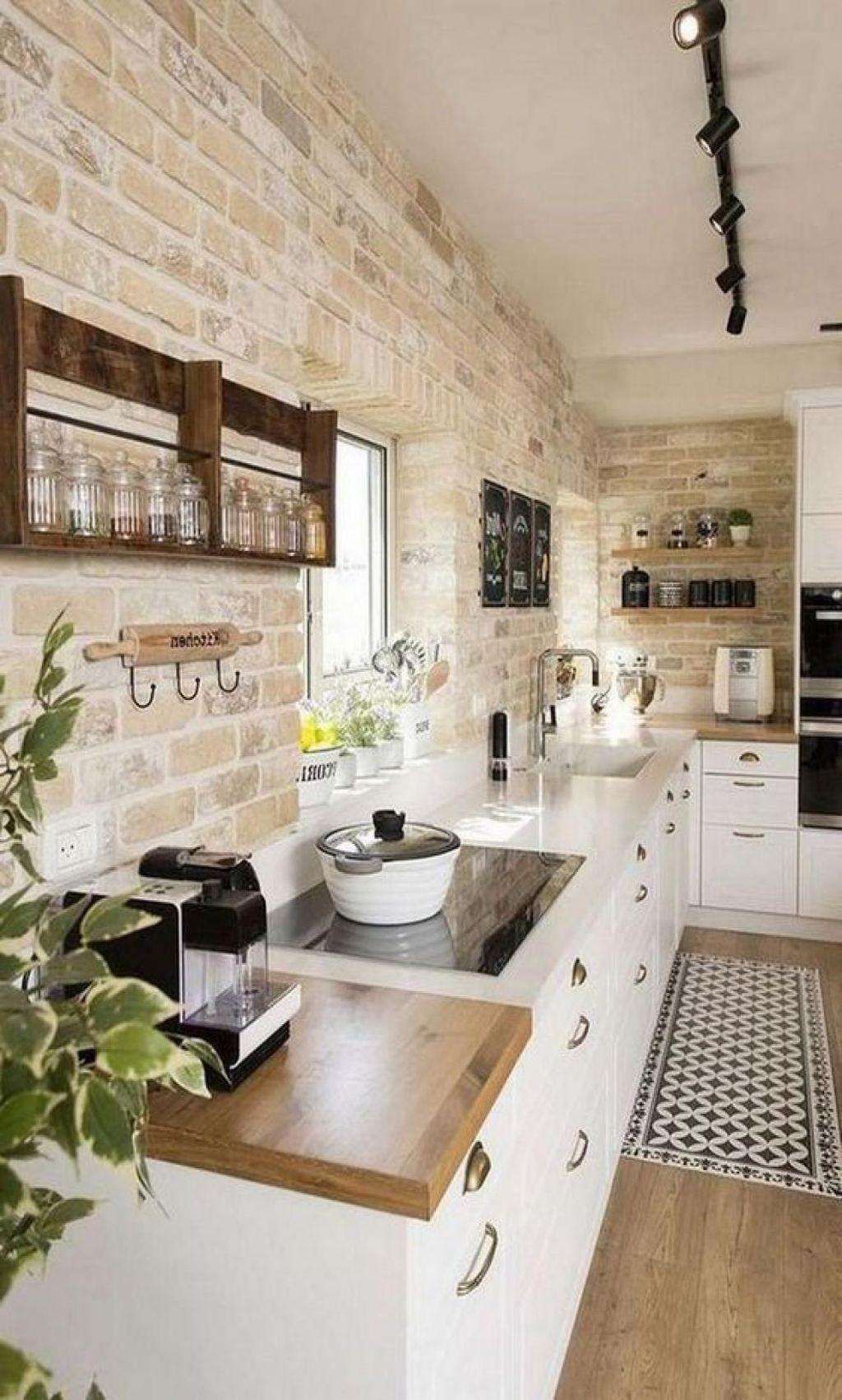 Fabulous Summer Kitchen Backsplash Ideas 33