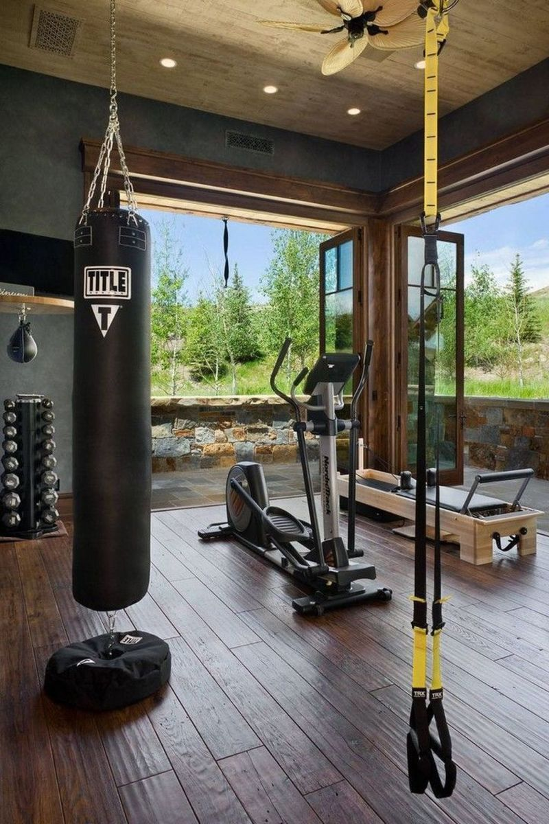Gorgeous Home Gym Design Ideas Keep You Healthy 03