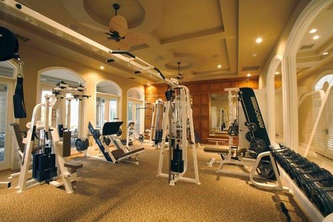 Gorgeous Home Gym Design Ideas Keep You Healthy 04