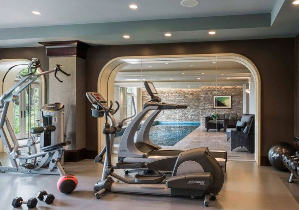Gorgeous Home Gym Design Ideas Keep You Healthy 12