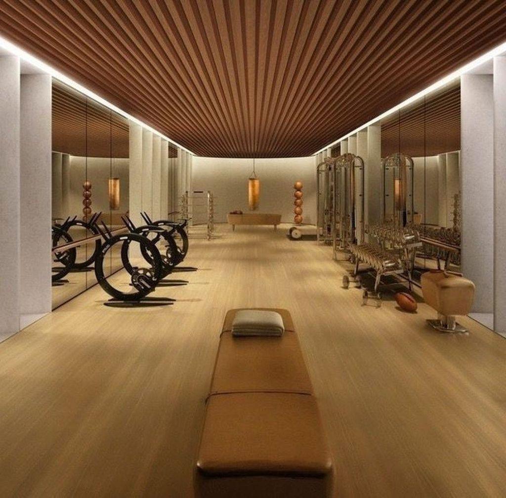 Gorgeous Home Gym Design Ideas Keep You Healthy 21