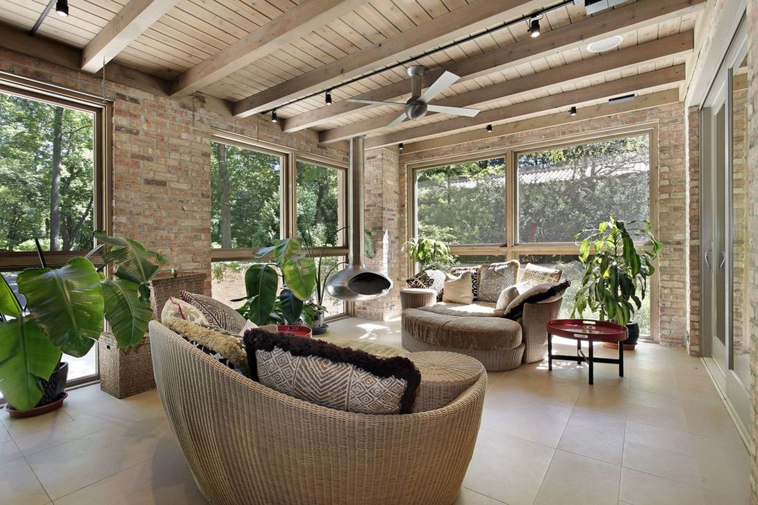 Gorgeous Modern Sunroom Design Ideas To Relax In The Summer 02