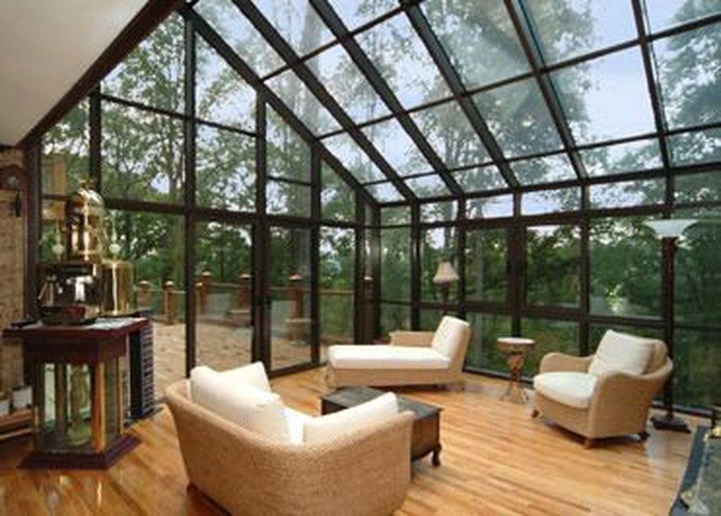 Gorgeous Modern Sunroom Design Ideas To Relax In The Summer 07
