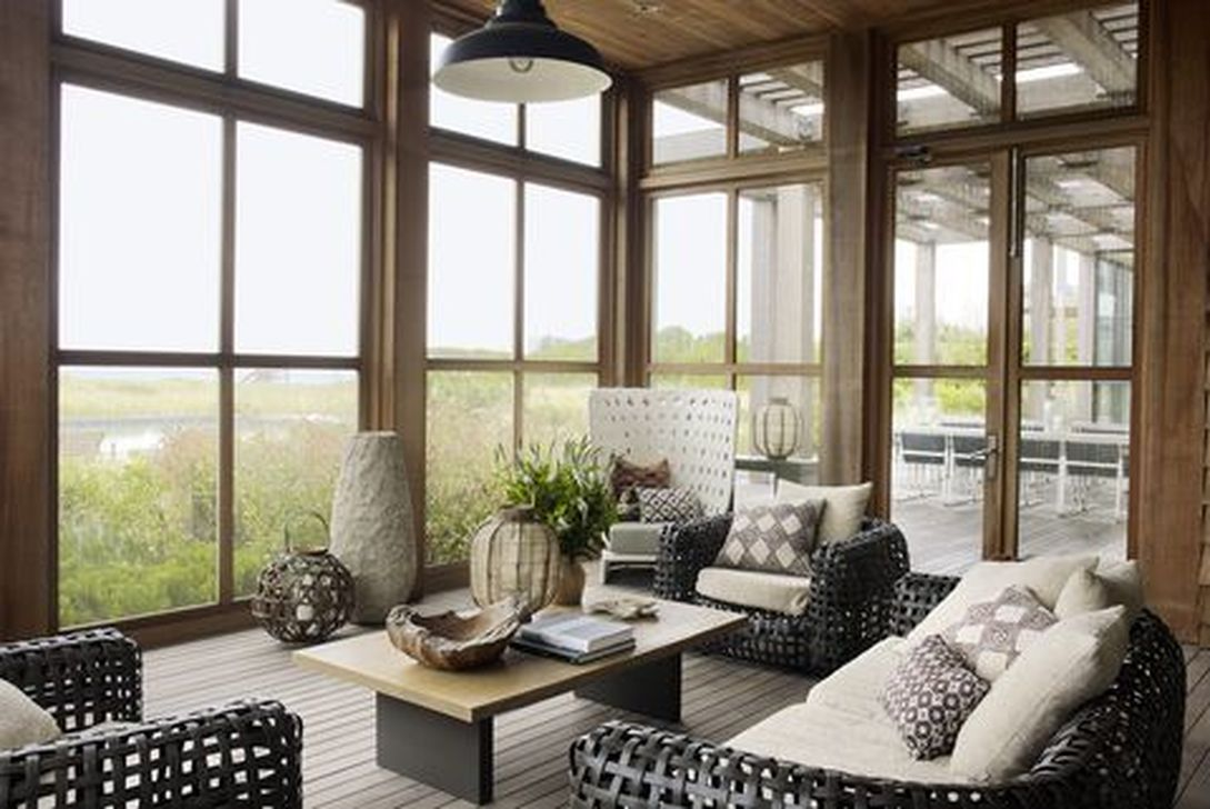 Gorgeous Modern Sunroom Design Ideas To Relax In The Summer 10