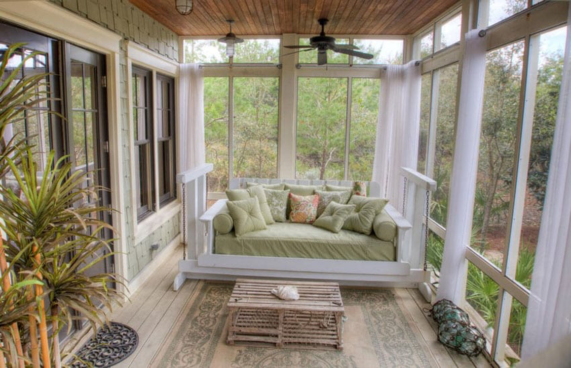 Gorgeous Modern Sunroom Design Ideas To Relax In The Summer 11